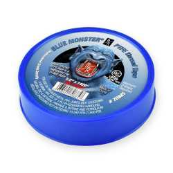 "Blue Monster PTFE Thread Seal Tape, 1/2"" x 1429"""