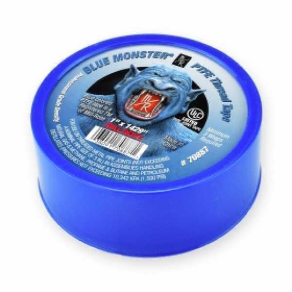 "Blue Monster PTFE Thread Seal Tape, 1"" x 1429"""