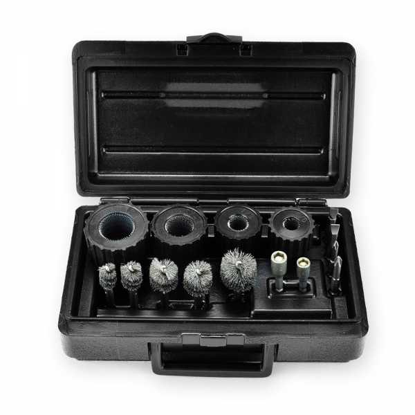 "Power Brush Tool Kit for 3/8"", 1/2"", 3/4"", 1"""