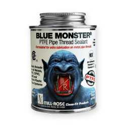 Blue Monster Industrial Grade PTFE Thread Sealant, 8 oz (1/2 pint)