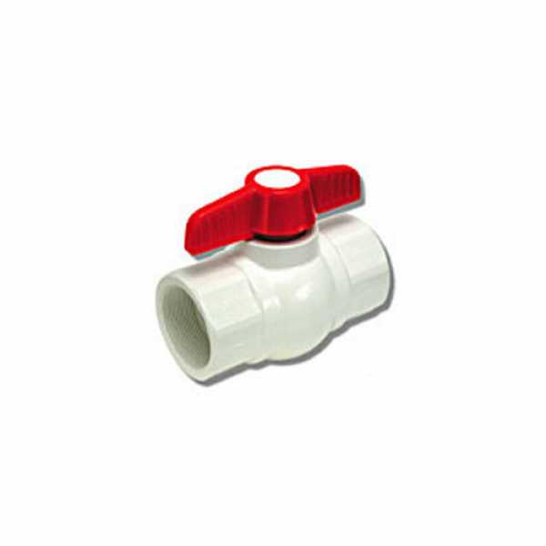 1-1/2 770 PVC Ball Valve - Threaded Ends""