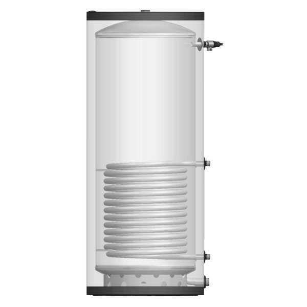 SST250-65 St. Steel Indirect Hot Water Heater, 67.0 Gal