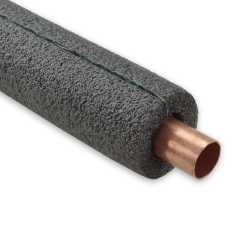 "1-1/8"" ID x 3/8"" Wall, Self-Sealing Pipe Insulation, 6ft"