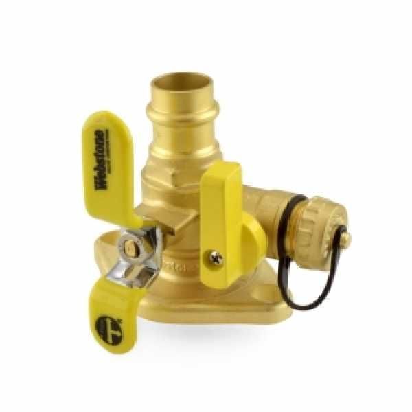"3/4"" Press Isolator Flange Valve w/ Drain & Rotating Flange"