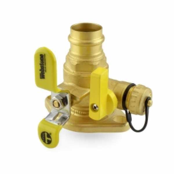 "1"" Press Isolator Flange Valve w/ Drain & Rotating Flange"