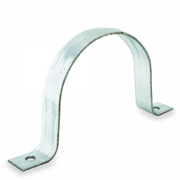 """4"""" Galvanized Pipe Strap"""