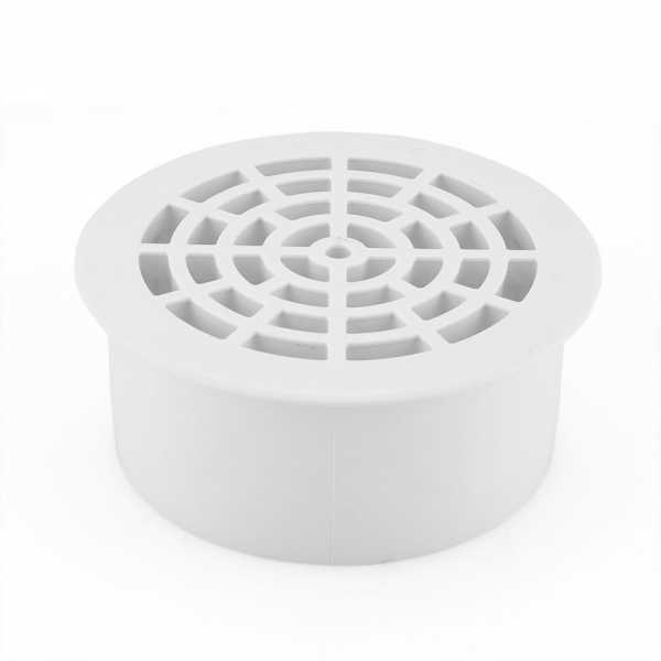 "4"" PVC Inside Pipe Floor Drain, Sch. 40"