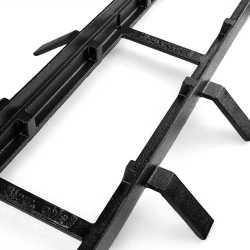 """36"""" Heavy-Duty Ductile Iron Grate Frame for FastTrack"""