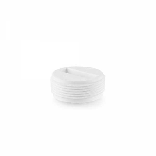 "1-1/2"" FIP Cleanout Flush Plug"