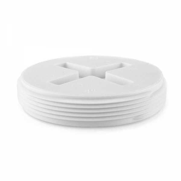 """4"""" FIP Cleanout Flush Plug"""