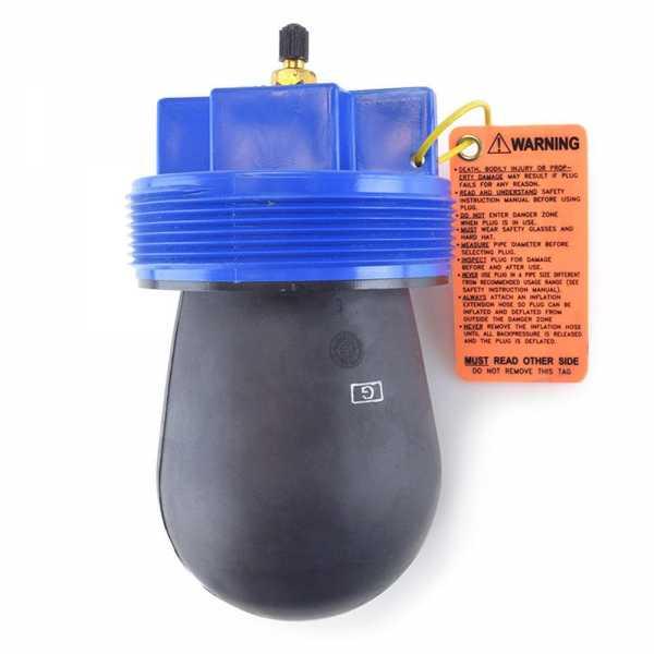 """4"""" Inflatable Test Tee Plug"""