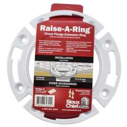 "7/16"" PVC Closet Flange Extension Ring"