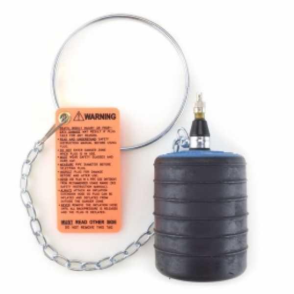 """3"""" - 4"""" Inflatable Pipe Test Plug"""