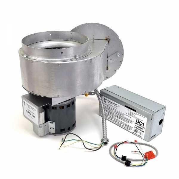 "Tjernlund HS3 8"" Side Wall Power Venter Kit"