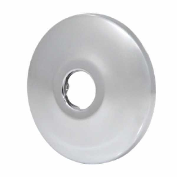 "1/2"" CTS Chrome Plated Steel Escutcheons for 1/2"" PEX, Copper (25/pack)"