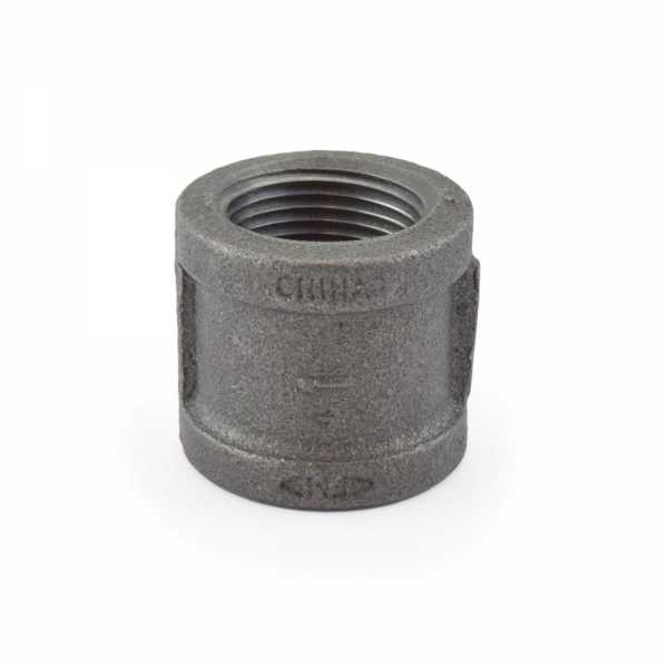 """1"""" Black Coupling (Imported)"""
