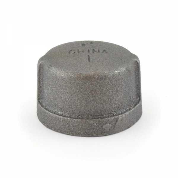 """1"""" Black Cap (Imported)"""