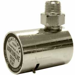 "Varivalve Adjustable Angle Steam Radiator Vent, 1/8"" NPT"