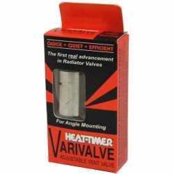 """Varivalve Adjustable Angle Steam Radiator Vent, 1/8"""" NPT"""