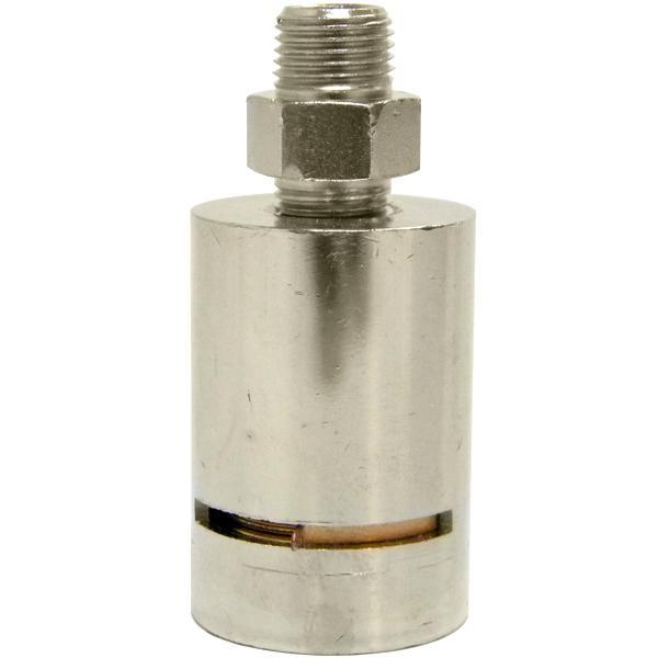 """Varivalve Adjustable Straight Steam Radiator Vent, 1/8"""" NPT"""