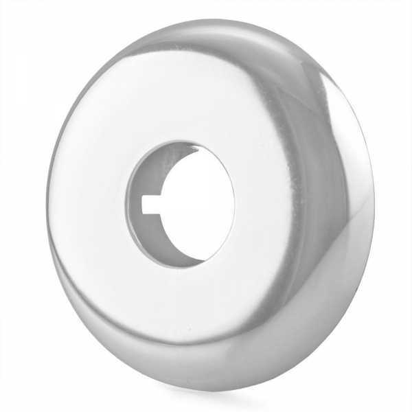 """1/2"""" IPS Chrome Plated Plastic, Split-Type Escutcheon for 1/2"""" Brass, Iron Pipes, Shower Arms"""