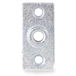 "1/2"" Galvanized Ceiling Plate"