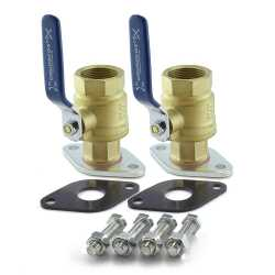"1-1/4"" NPT Pump Isolation Valves (Pair)"