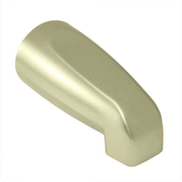 "5-1/4"" long, SmartSpout Slip-On Tub Spout, Satin Nickel"