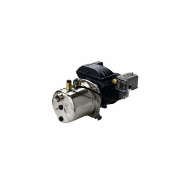 Deep Well Jet Pump, 1/2HP, 115/230V, Cast Iron