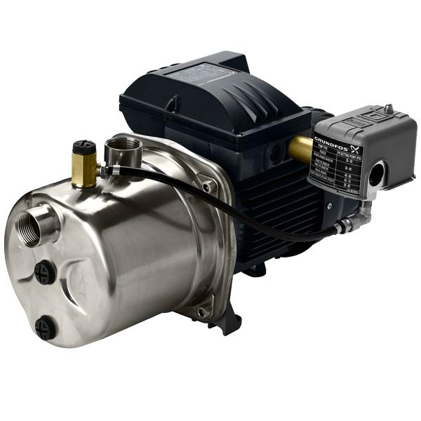 Shallow Well Jet Pump, 1/2HP, 115/230V, Stainless Steel