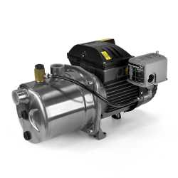 Shallow Well Jet Pump, 3/4HP, 115/230V, Stainless Steel