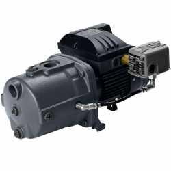 Deep Well Jet Pump, 1-1/2HP, 230V, Cast Iron