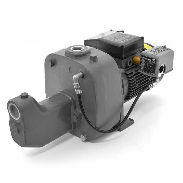 Shallow Well Jet Pump, 1-1/2HP, 230V, Cast Iron