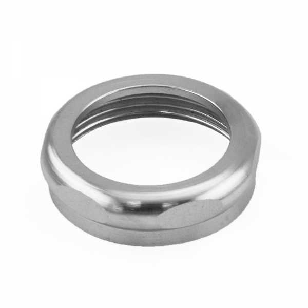 "1-1/4"" Tubular Slip Nut, Chrome Plated Solid Brass"