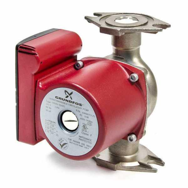 UPS26-99BF Stainless Steel Circulator Pump, 1/6 HP, 115V