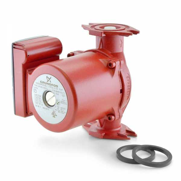 UPS26-99BFC 3-Speed Stainless Steel Circulator Pump, 1/6 HP, 115 volt