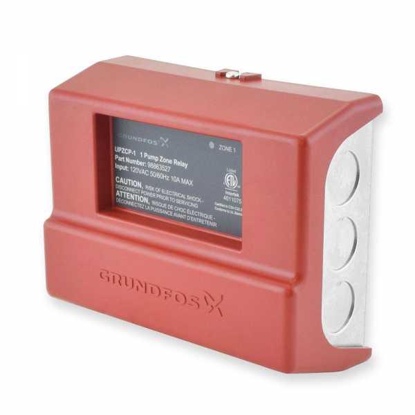 UPZCP-1, 1-Zone Pump Control