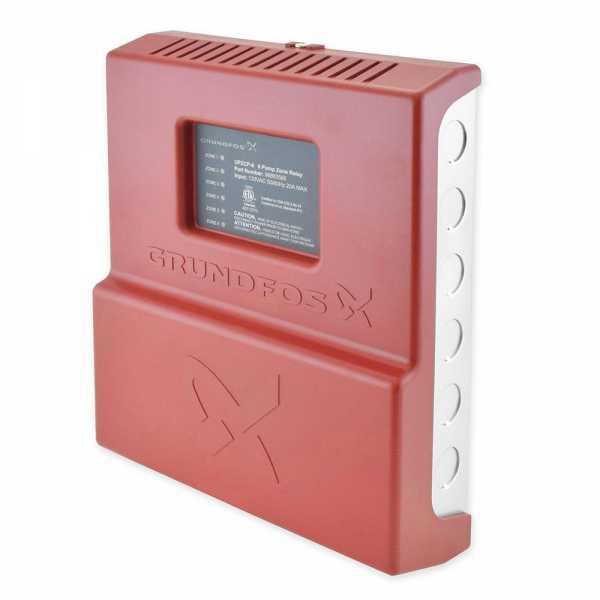 UPZCP-6, 6-Zone Pump Control, Expandable