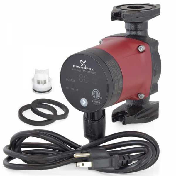 Alpha1 15-55FR/LC Variable Speed Circulator Pump w/ IFC, Line Cord, 1/16 HP, 115V