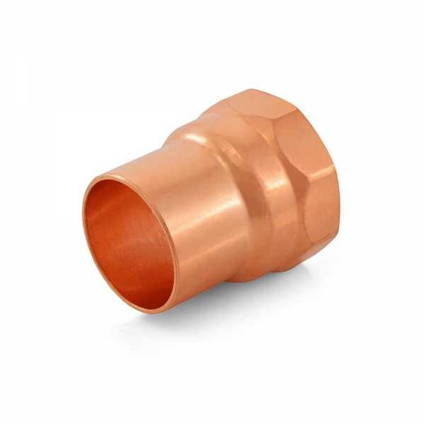"1-1/4"" Copper x Female Threaded Adapter"