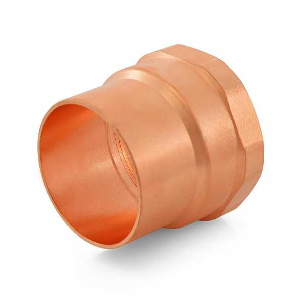 "2"" Copper x Female Threaded Adapter"