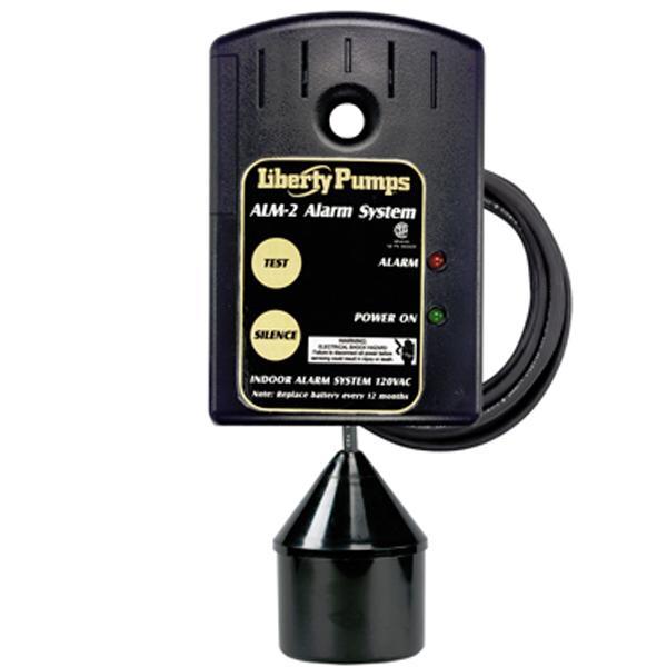 Indoor High Liquid Level Alarm w/ 10' Cord, 86 db horn