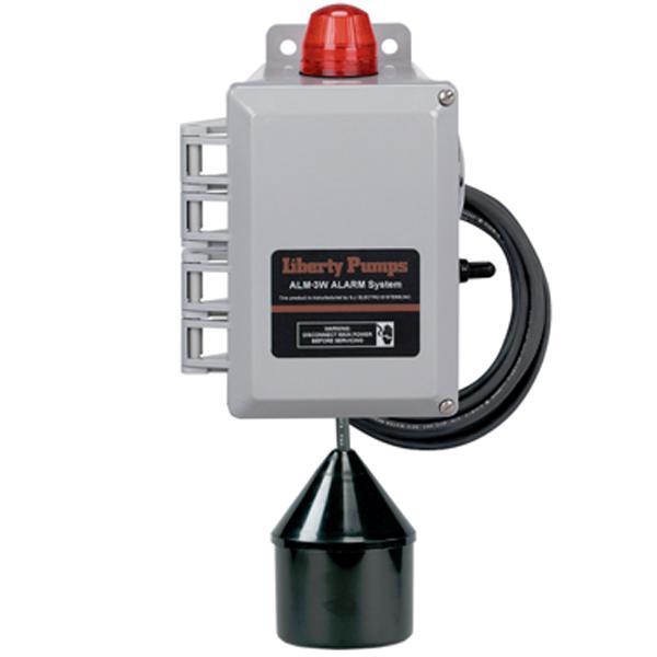 Commercial Outdoor High Liquid Level Alarm w/ 20' Cord, 88 db