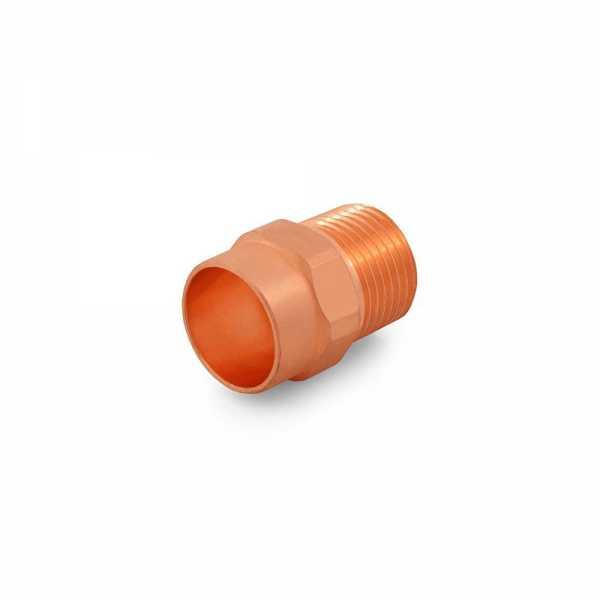 "1/2"" Copper x 3/8"" Male Threaded Adapter"