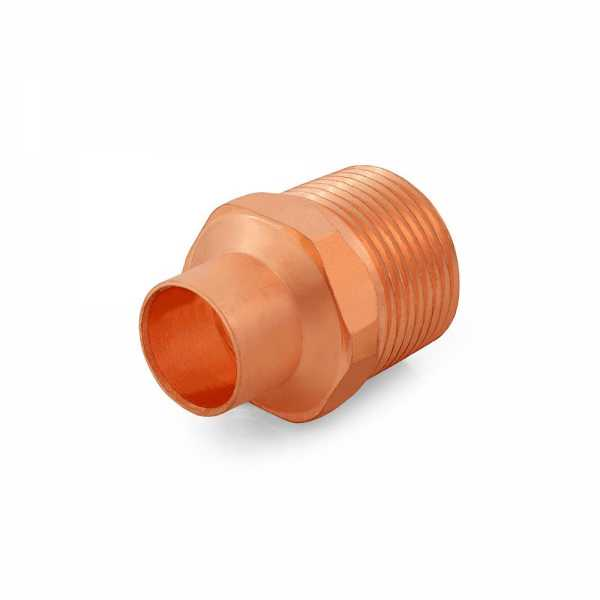 """1/2"""" Copper x 3/4"""" Male Threaded Adapter"""