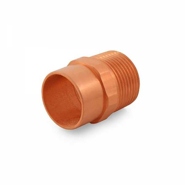 """1"""" Copper x Male Threaded Adapter"""