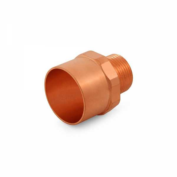 "1-1/4"" Copper x 3/4"" Male Threaded Adapter"