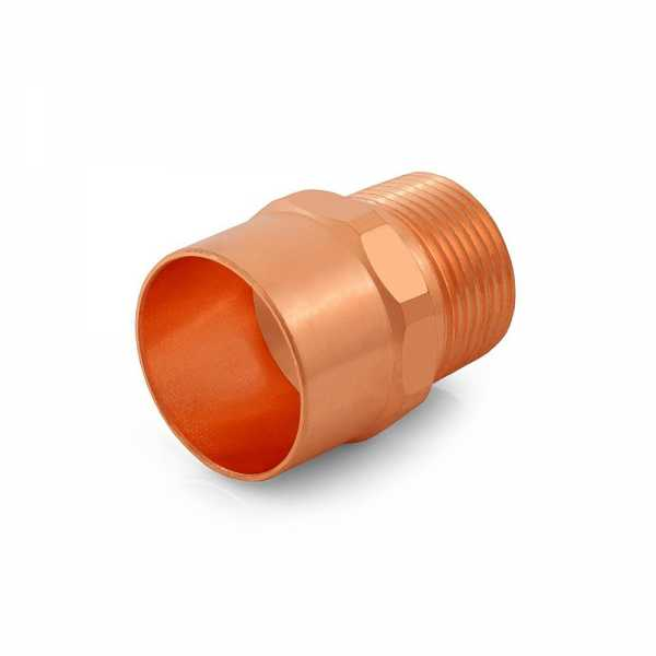 "1-1/4"" Copper x 1"" Male Threaded Adapter"