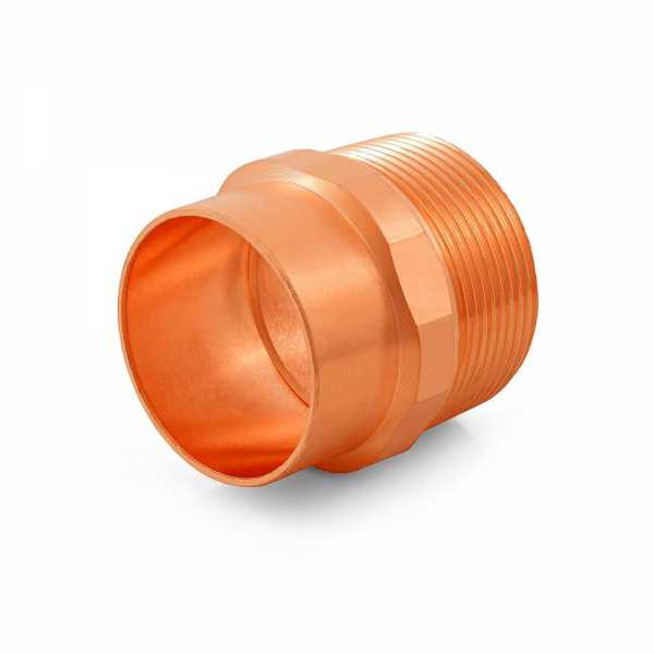 "1-1/2"" Copper x Male Threaded Adapter"