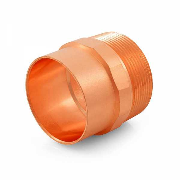 """2"""" Copper x Male Threaded Adapter"""